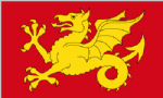 Wessex Large County Flag - 5' x 3'.